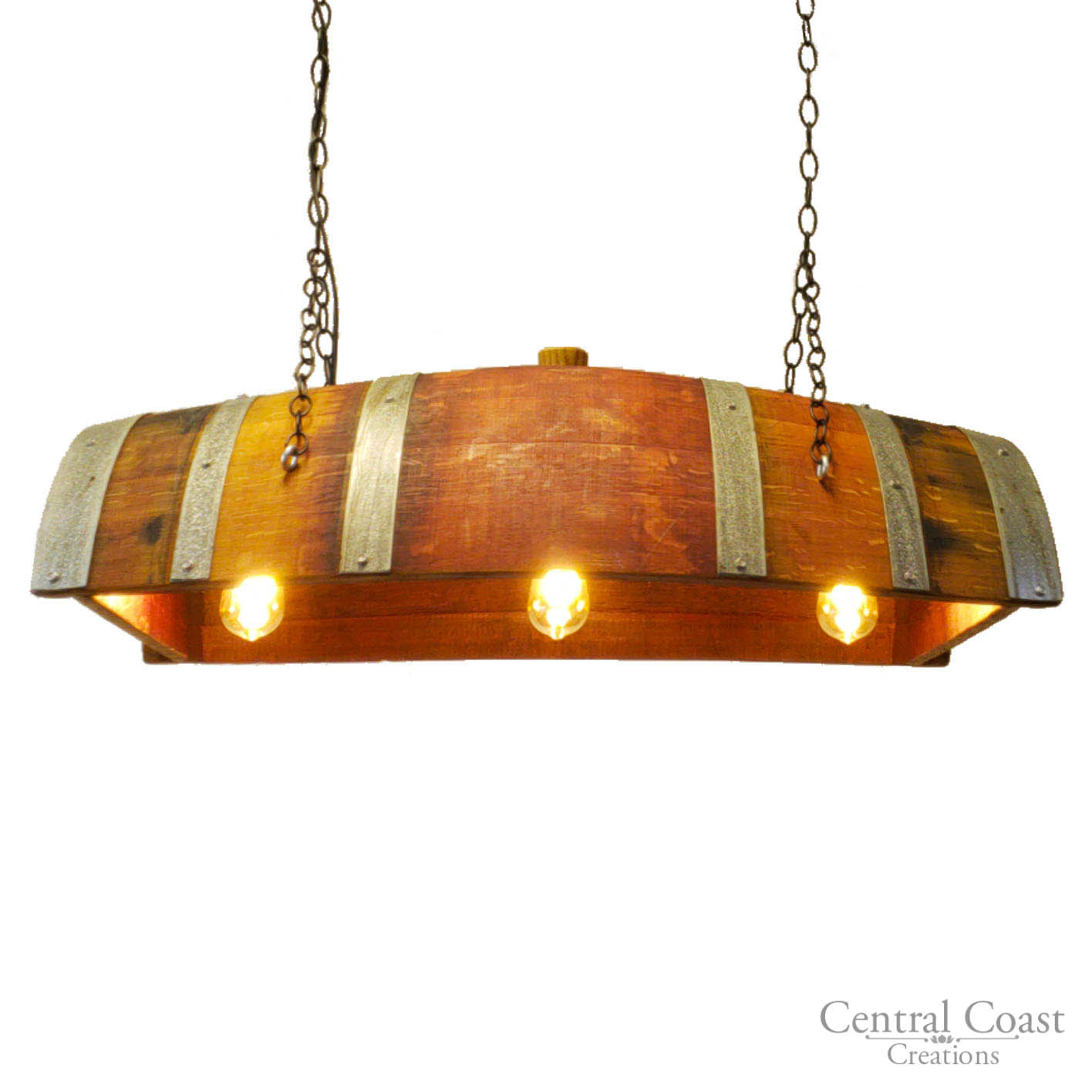 Details About Wine Barrel Hanging Lamp Chandeliere Light Fixture Rustic Furniture Home Decor